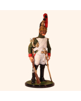 JW80 18 French Imperial Guard Dragoons Trooper 1812 Kit
