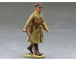 FOB012 French Marching Officer King and Country