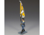 LW009 Marching Officer with Flag Luftwaffe King and Country