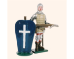 MS1-2 Toy Soldier Set French of Crossbowmen The Battle of Agincourt Kit