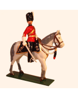 M101 Toy Soldier Officer, Royal Scots Greys  The 2nd Dragoons 1900 Kit