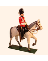M102 Toy Soldier Set Trooper, Royal Scots Greys Painted