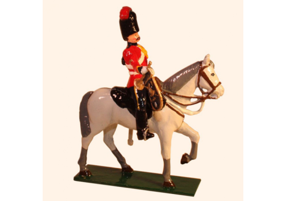 M104 Toy Soldier Set Trumpeter, Royal Scots Greys Painted