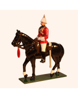 M210 Toy Soldiers Set Officer 4th Bengal Lancers 1900 Painted