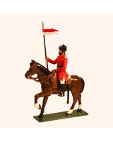 M212 Toy Soldiers Set Trooper 4th Bengal Lancers 1900 Painted