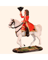 M54 62 The Duke of Marlborough Mounted Painted