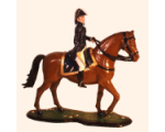 M90 05 The Duke of Wellington Mounted on Copenhagen 90mm Painted in Gloss