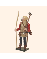 MS2-2 Toy Soldier Set English Archer with war hammers The Battle of Agincourt Kit