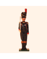 N2-1 Toy Soldier Officer French Foot Artillery 1810 Kit