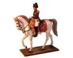 NF0032 Napoleon on horse in chasser uniform Painted