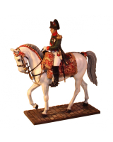 NF0032 Napoleon on horse in Chasseurs uniform Painted