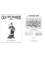 Old Toy Soldier Magazine 1997 Volume 21 Number 4 Boy Scouts Revisited