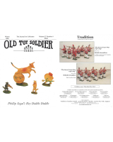 Old Toy Soldier Magazine 2004 Volume 27 Number 4 Phillip Segals Hey Diddle Diddle