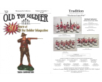 Old Toy Soldier Magazine 2006 Volume 30 Number 1 Trico Composition