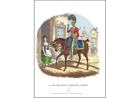 Plate No.020 1st or The King's Dragoon Guards c.1827