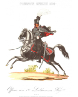 Plate No.058 Officer Prussian Cavalry 1809