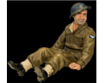RAF33 Sitting Airman King and Country