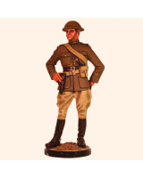 RC110 19 USA Officer Artillery 1917 First World War Painted