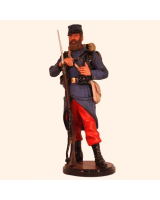 RC110 20 French Infantryman 1914 First World War Painted
