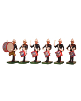 RP3199 Royal Marines Drummer 6 piece set Painted