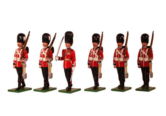 SF49GG Grenadier Guards 6 piece set Painted