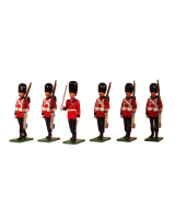 SF49SG Scots Guards 6 piece set Painted