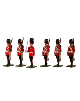 SF49WG Welsh Guards 6 piece set Painted