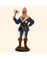 SP54-10 Zug - Zoug Postman Painted
