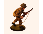 Sqn80 010 Paratrooper in Helmet carrying rifle 1944 Kit