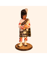 Sqn80 016 Band Corporal 78th Highlanders Ross shire Buffs 1859 Painted