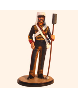 Sqn80 104 Gunner, Royal Horse Artillery Indian Mutiny Painted