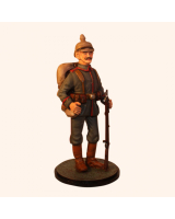 Sqn80 116 Private German Line Infantry circa 1914 Painted