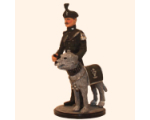 Sqn80 052 Royal Irish Ranger and Mascot 1984 Painted