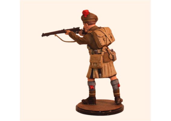 Sqn80 035 British Private Black Watch WW1 – France 1915 Kit