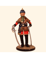 Sqn80 120 British Officer 2nd Punjab Cavalry Probyn's Horse 1857 Painted