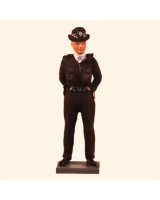 T54 036 Police Women Painted