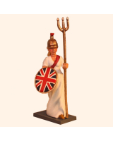 T54 057 Figurehead of the HMS Britannia Vessel name HMS Britannia Kit