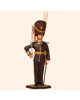 T54 S01 T.S. Officer Foot Guard Full Dress Grenadier Painted