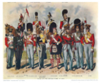 ToL No.010 British Soldiers - Past and Present by R. Simkin