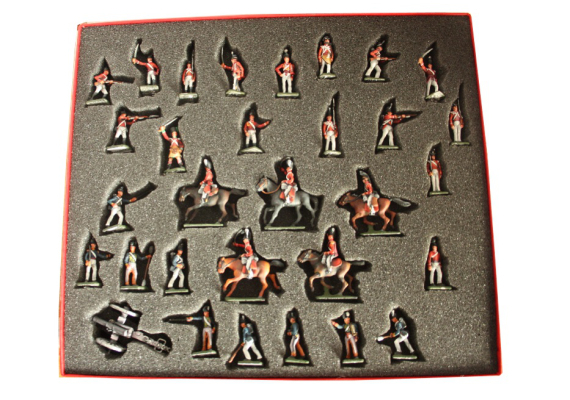 ToL 052 - The British Army - Napoleonic war - Size 25mm Painted