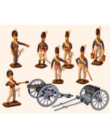 ToL 053 - The Royal Horse Artillery The British Army - Napoleonic War - Size 54mm Painted