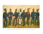 Plate ToL No.006 Wurtemburg General Officers, General Staff and Palace Guard Company