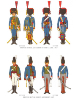 Plate ToL No.007 French Horse Artillery of the Guard and British Royal Horse Artillery 1815