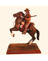 A/15 - James M. Beaver Free Trapper, Mountain Man 1840 – Size 90mm Painted