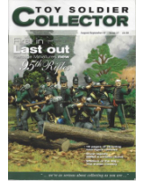 Toy Soldier Collector Issue 17 First in last out, Heritage Miniatures