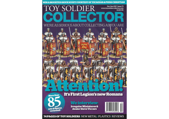 Toy Soldier Collector Magazine Issue 73 Attention! It's First legion's new Romans