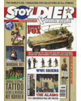 Toy Soldier and Model Figure Magazine Issue 097 Desert Fox - WW1 Skiers