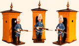 Toy Set 1001 Mounted Life Guard Full Dress with sentry box Painted