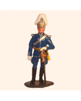 1008 Toy Soldier Set Officer Life Guard Full Dress K1 Painted