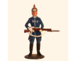 1010 Toy Soldier Set Trooper Life Guard K1 Painted